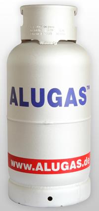 14 kg ALUGAS Flasche