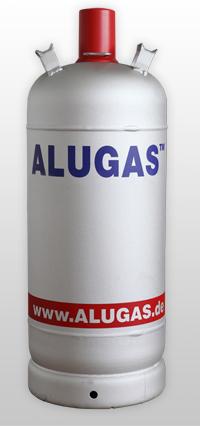 18 kg - Alugas Flasche